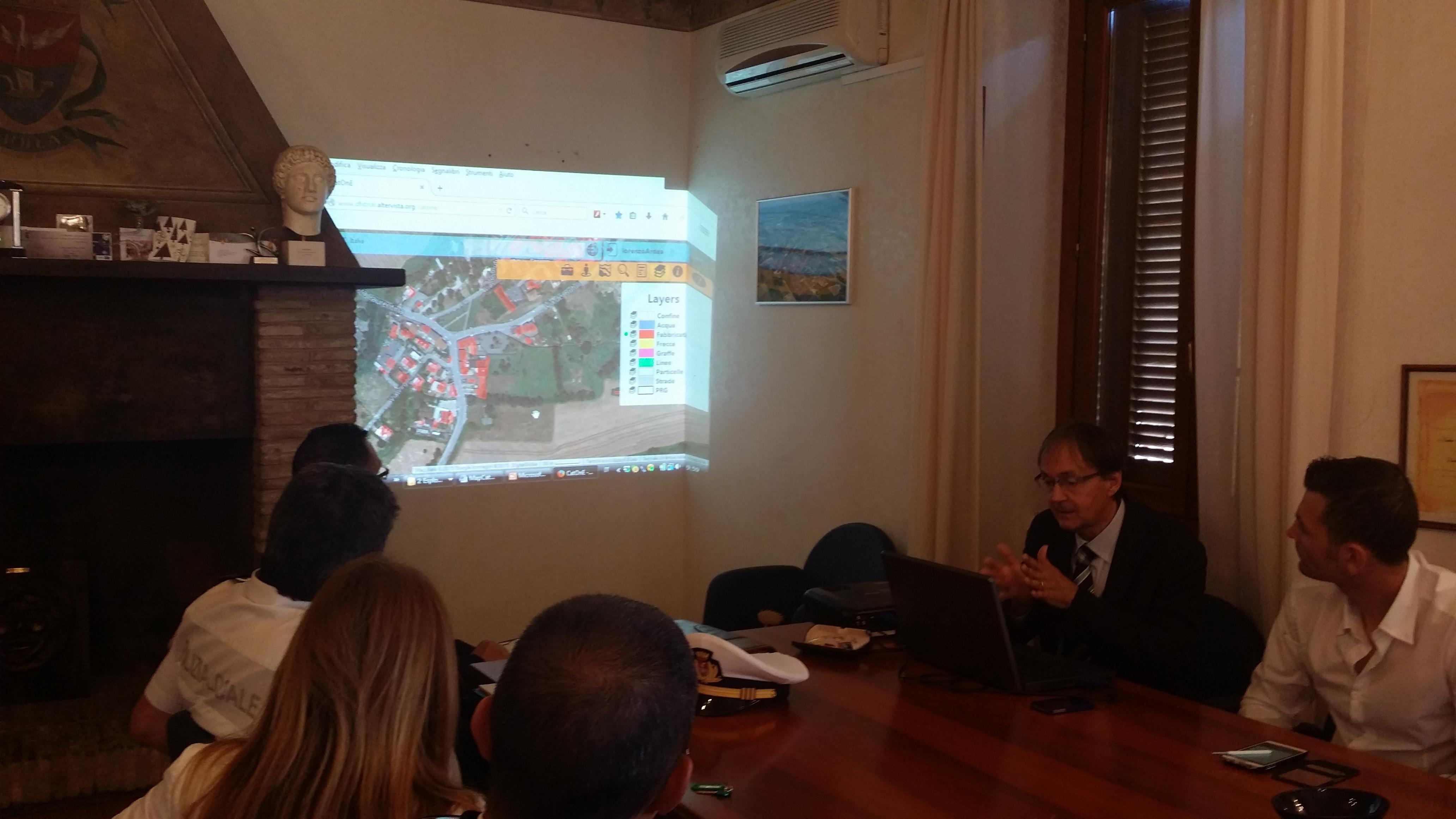 """Ardea, l'urbanistica va sul web con sistema """"Catone"""""""