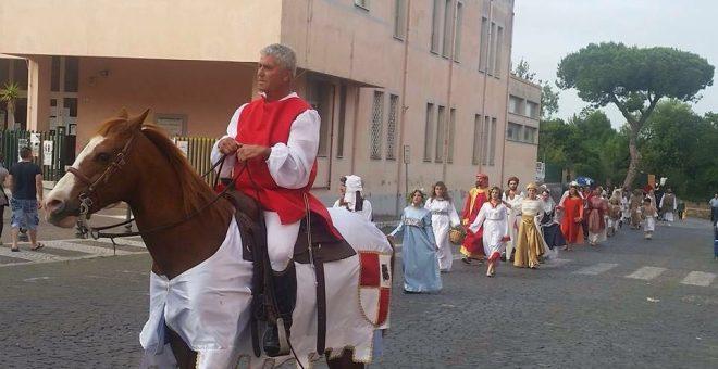 """Alla Rocca la """"Festa delle contrade"""""""