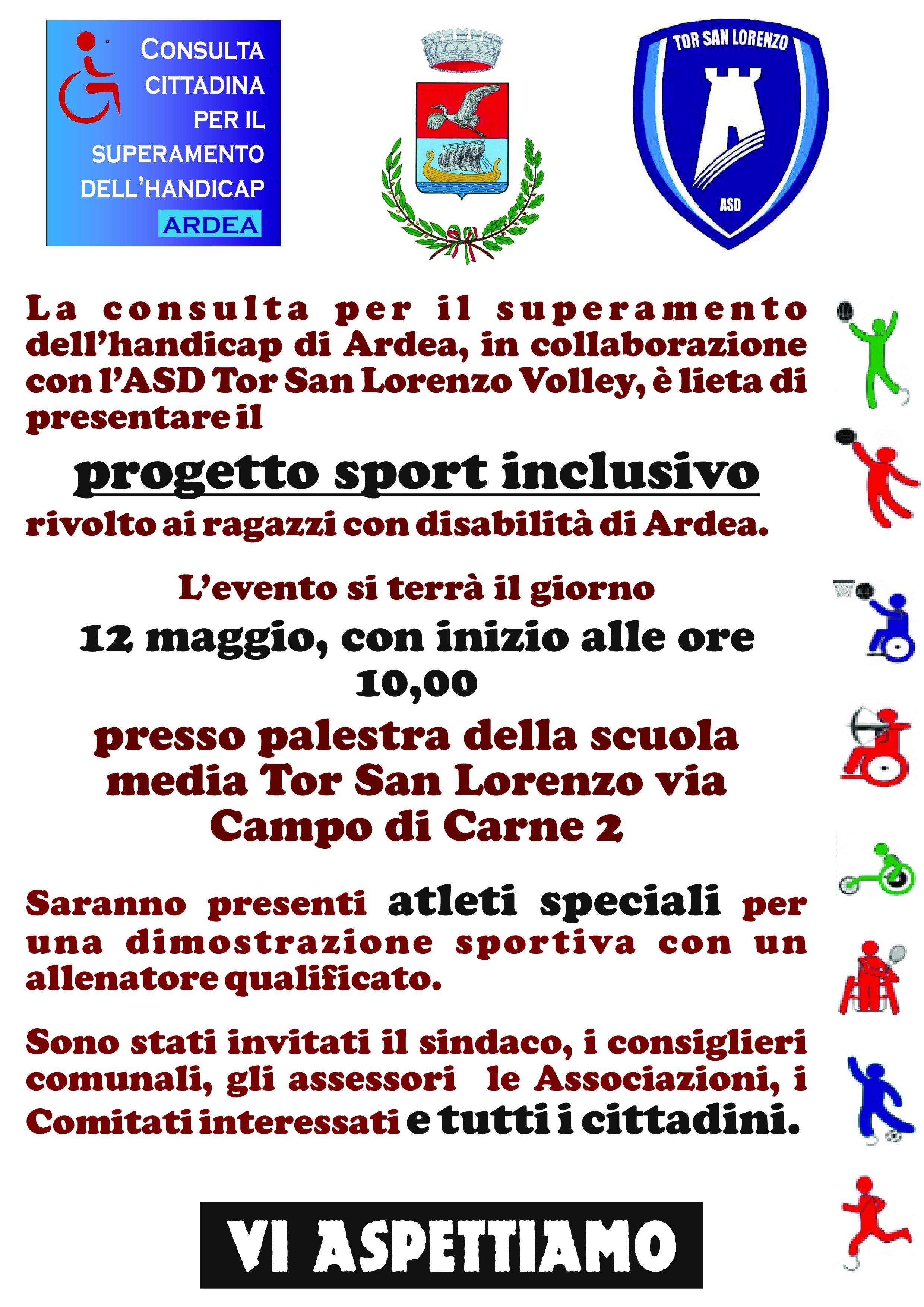 Evento Sport inclusivo