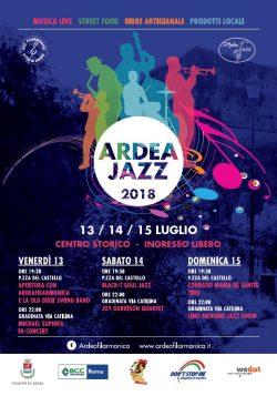 Locandina Ardeajazz 2018