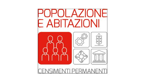 Nuovo Censimento ISTAT delle popolazioni e delle abitazioni 2018
