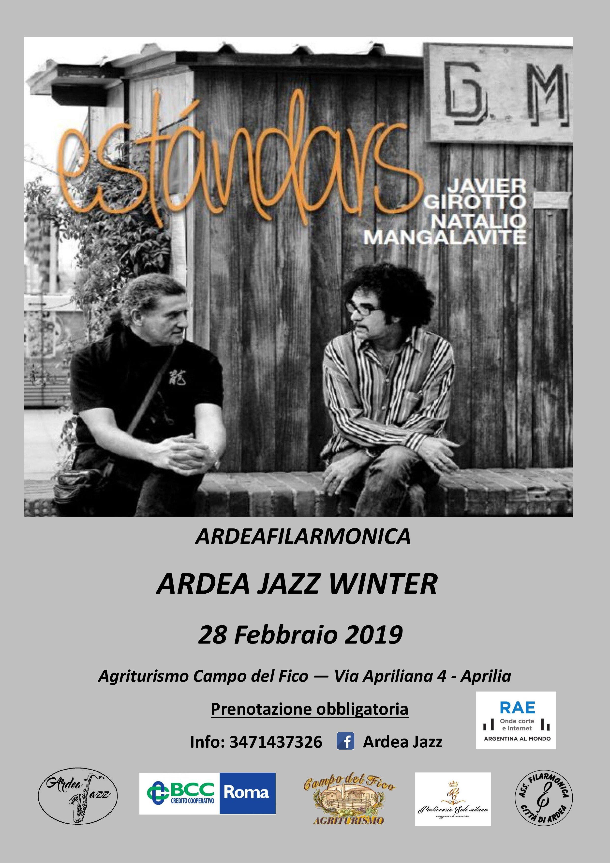 Concerto Ardea Jazz Winter con Javier Girotto