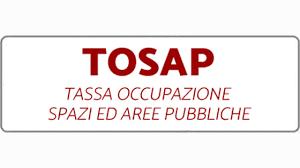 Tosap – Tassa occupazione di spazi e aree pubbliche