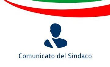 AVVIO DELL'ANNO SCOLASTICO: COMUNICATO DEL SINDACO