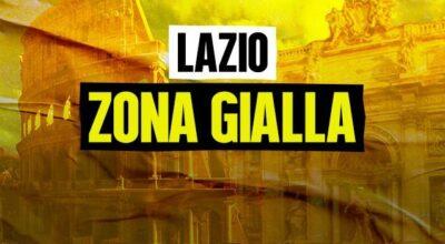 REGIONE LAZIO: ZONA GIALLA A PARTIRE DAL 26 APRILE