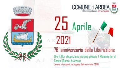 ANNIVERSARIO DELLA LIBERAZIONE 25 APRILE 2021