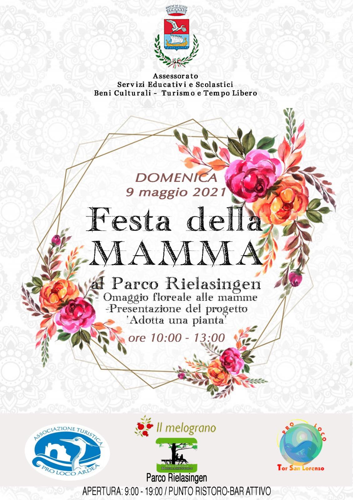 Locandina Festa della Mamma 2021
