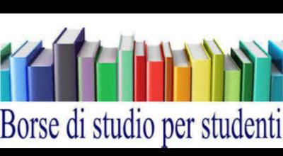 EROGAZIONE DELLE BORSE DI STUDIO IN FAVORE DEGLI STUDENTI