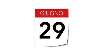 29 GIUGNO: FESTIVITA' SANTO PATRONO