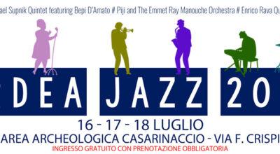 Ardea Jazz 2021 – 16, 17 e 18 luglio – Casarinaccio
