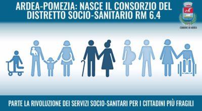 ARDEA-POMEZIA, NASCE IL CONSORZIO DEL DISTRETTO SOCIO-SANITARIO RM 6.4